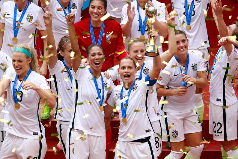 Coupe du monde f minine de football les etats unis sacr s minutenews - Coupe du monde etats unis ...
