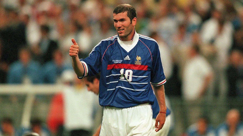 Le Maillot De Zin 233 Dine Zidane Port 233 En Finale Du Mondial
