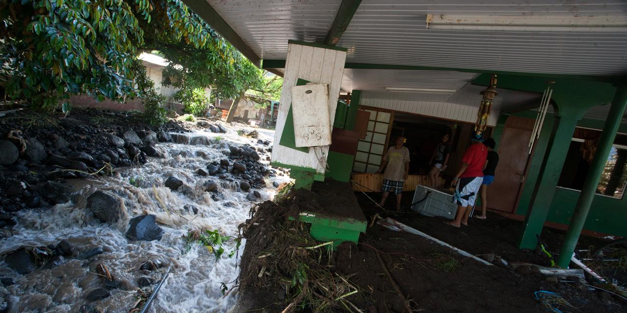 Inondations. La Polynésie française sous les eaux