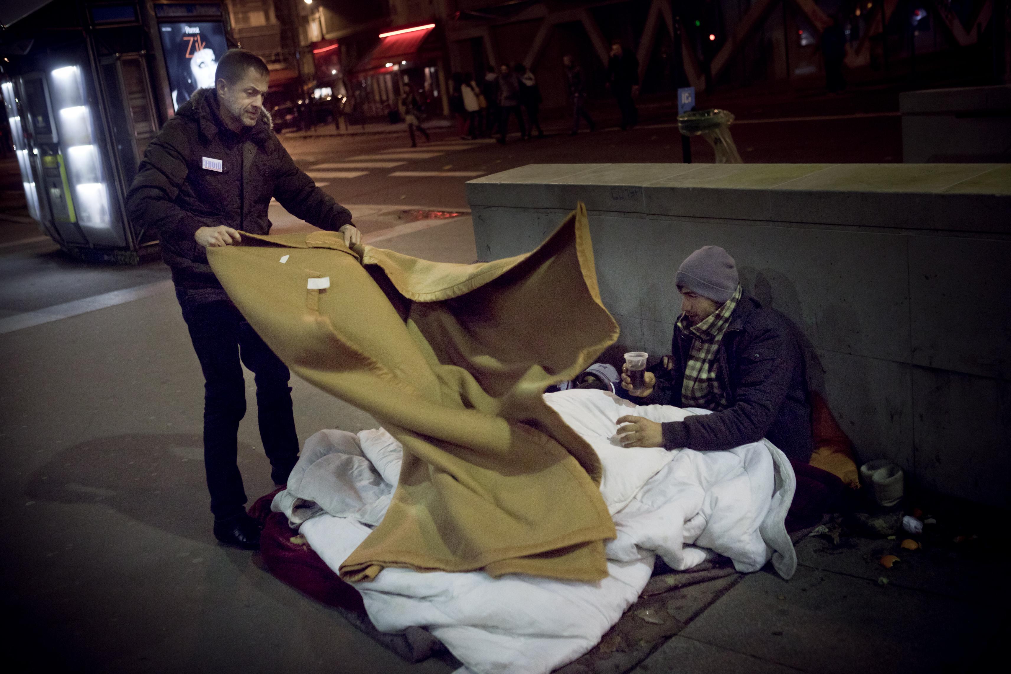 Perpignan : le beau geste d'un patron de pressings pour les sans-abri