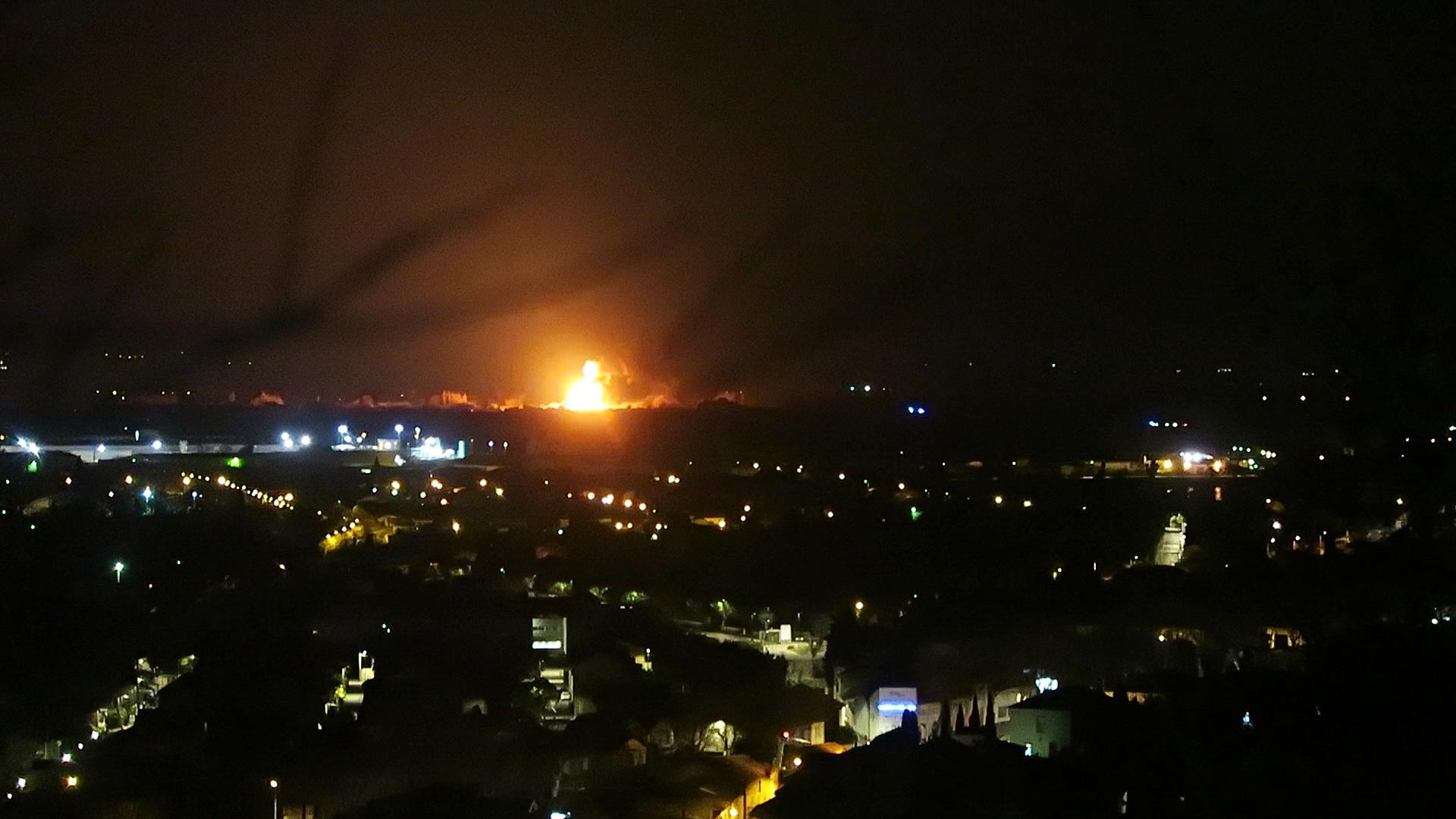 40 tonnes de gaz explosent, plus de peur que de mal