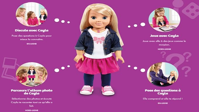 Une poupée connectée interdite ou à détruire outre-Rhin — Cayla