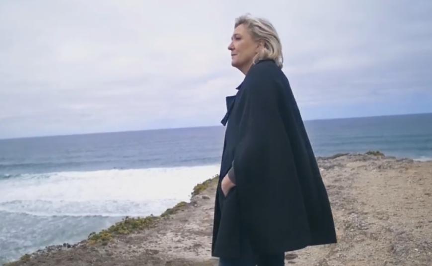Le clip de campagne de Marine Le Pen tourné sans autorisation — Bretagne