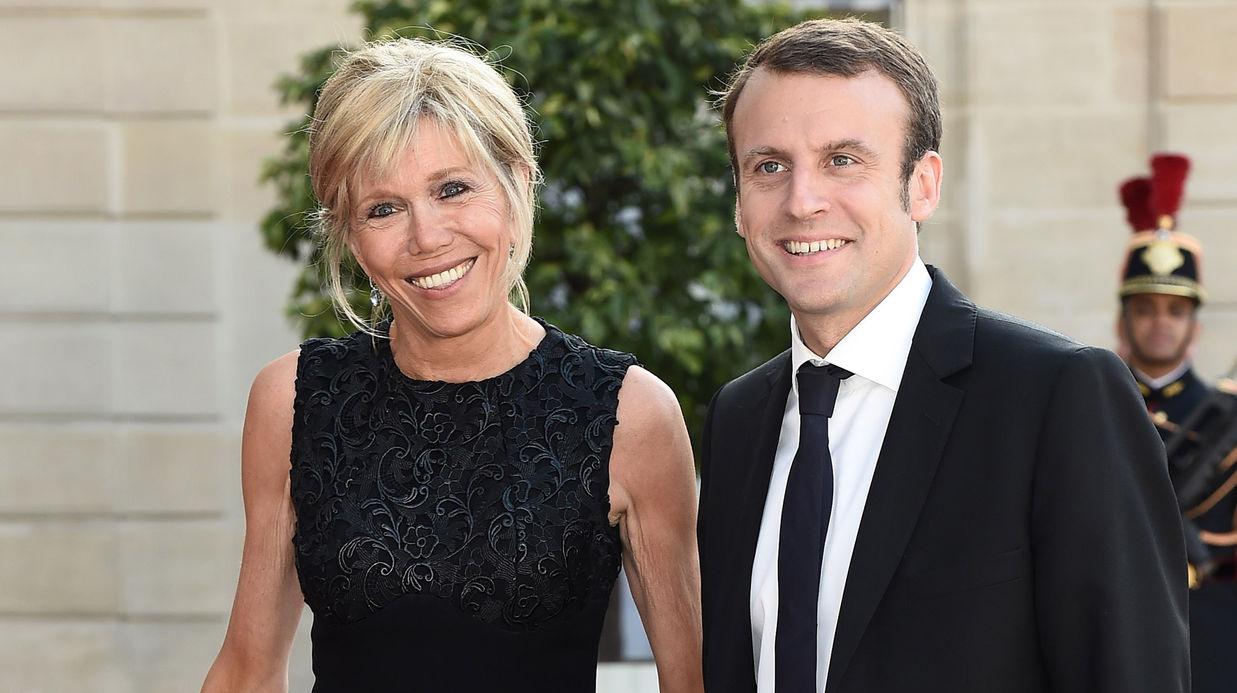 Présidentielle 2017 : Emmanuel Macron rend hommage à sa femme Brigitte