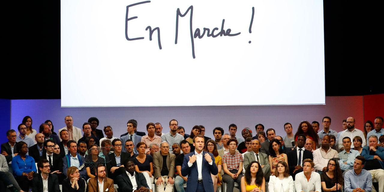 428 candidats En Marche! investis, dont 52% de la société civile — Législatives