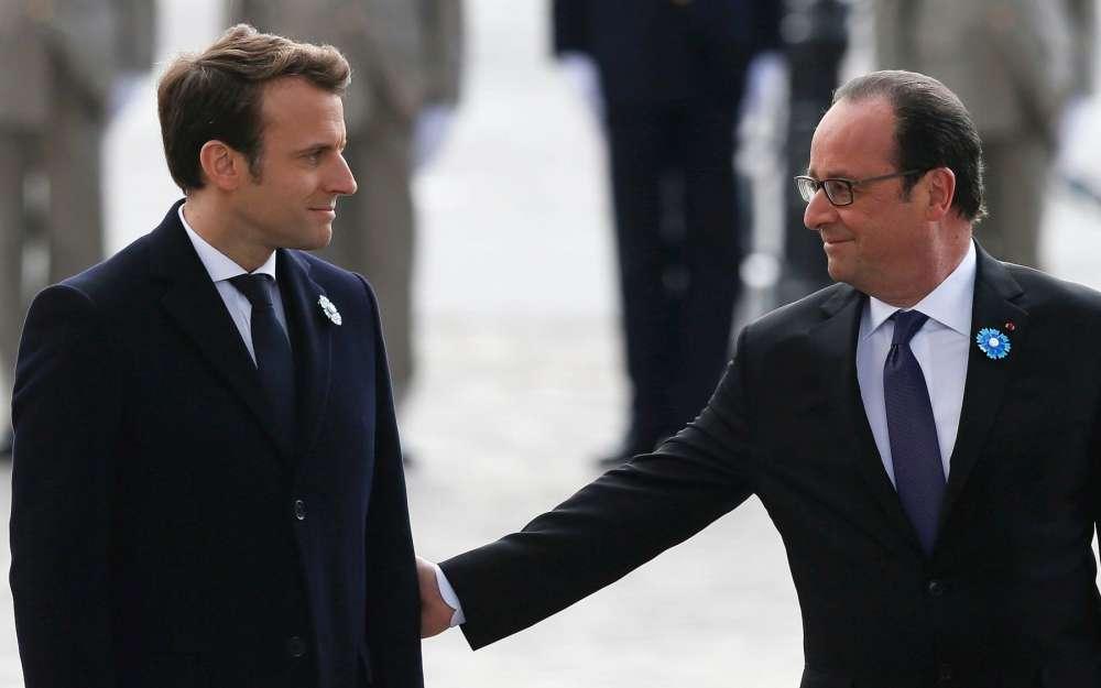 France: Passation de pouvoir entre Hollande et Macron