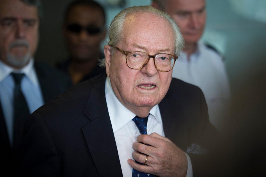 Jean-Marie Le Pen dérape au sujet de sa petite-fille