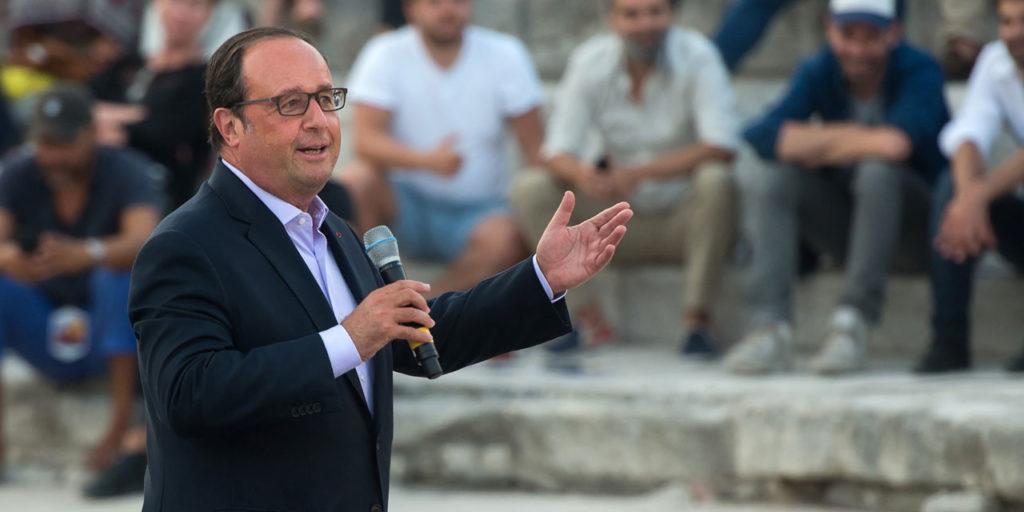 François Hollande rompt le silence et loue son bilan