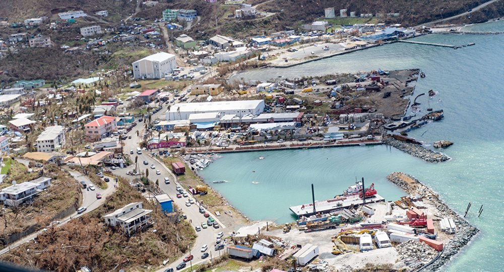 Des prisonniers évadés et un lourd bilan pour les îles britanniques — Irma