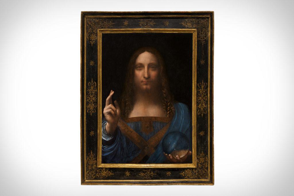 Salvator Mundi Un Tableau De Leonard De Vinci Devient Le Plus Cher Du Monde Minutenews