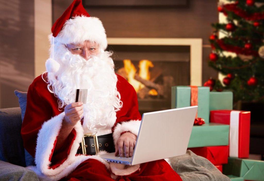 Record de transactions par carte bancaire — Noël