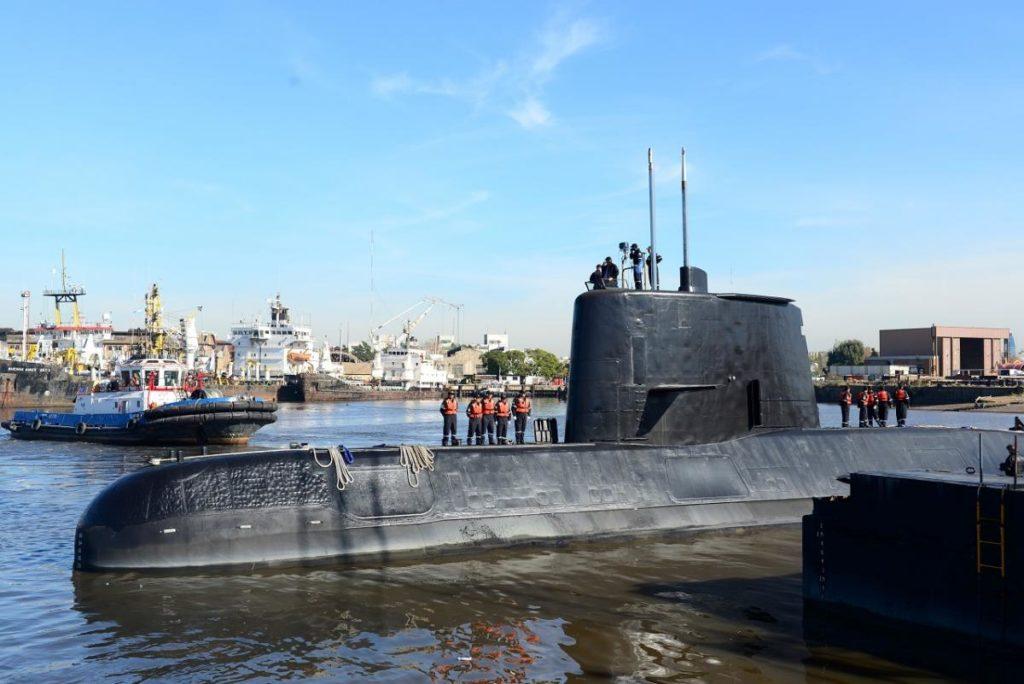 Le sous-marin argentin disparu aurait implosé en à peine 40 millisecondes