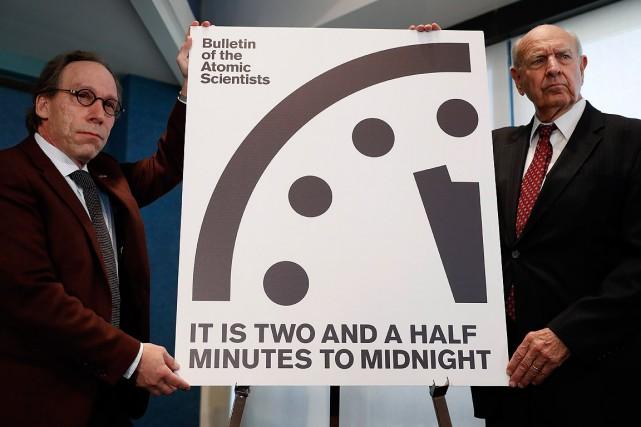 A l'horloge de l'apocalypse, il ne reste que 2 minutes avant minuit