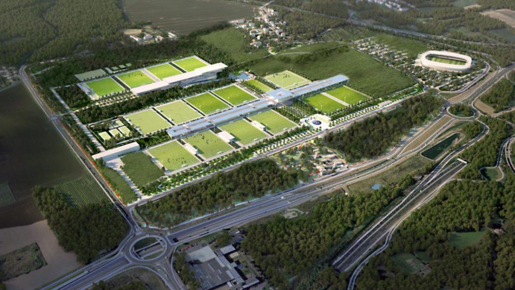 Le futur centre d'entraînement du PSG avance