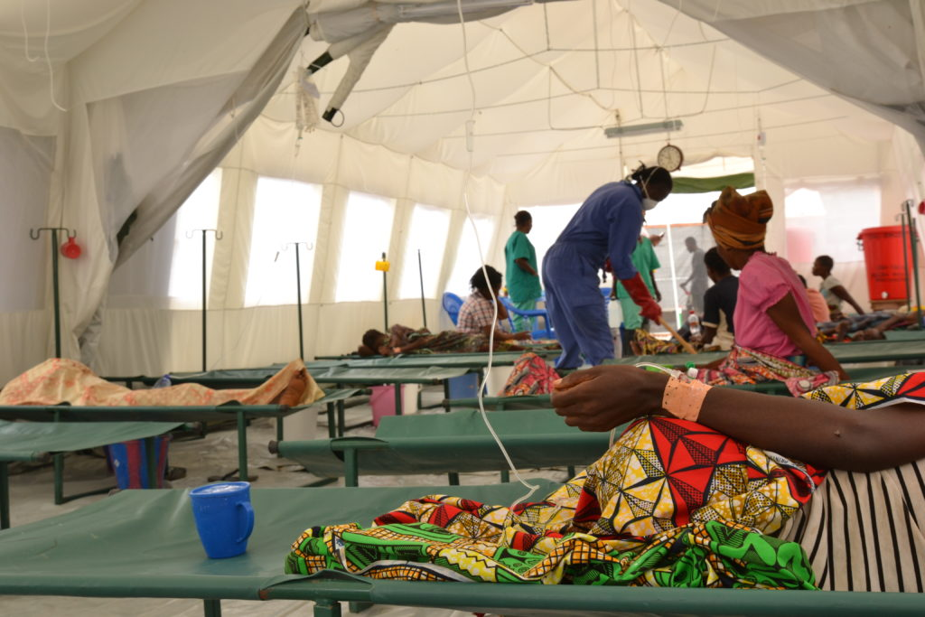 725 cas suspects de choléra répertoriés à Kinshasa — Santé