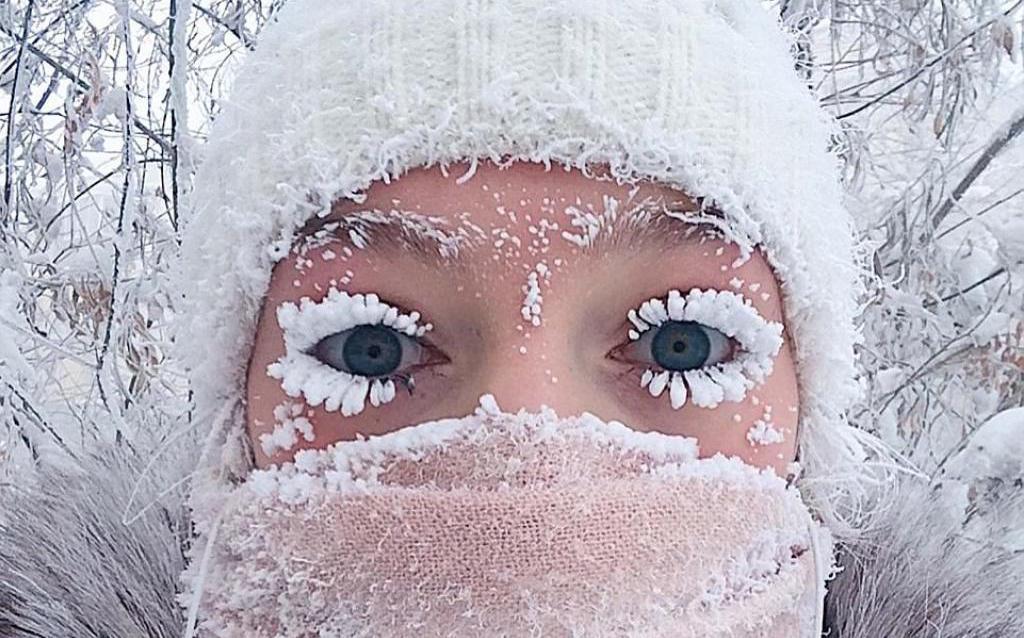 62°C à Oymyakon, la ville la plus froide du monde — Russie