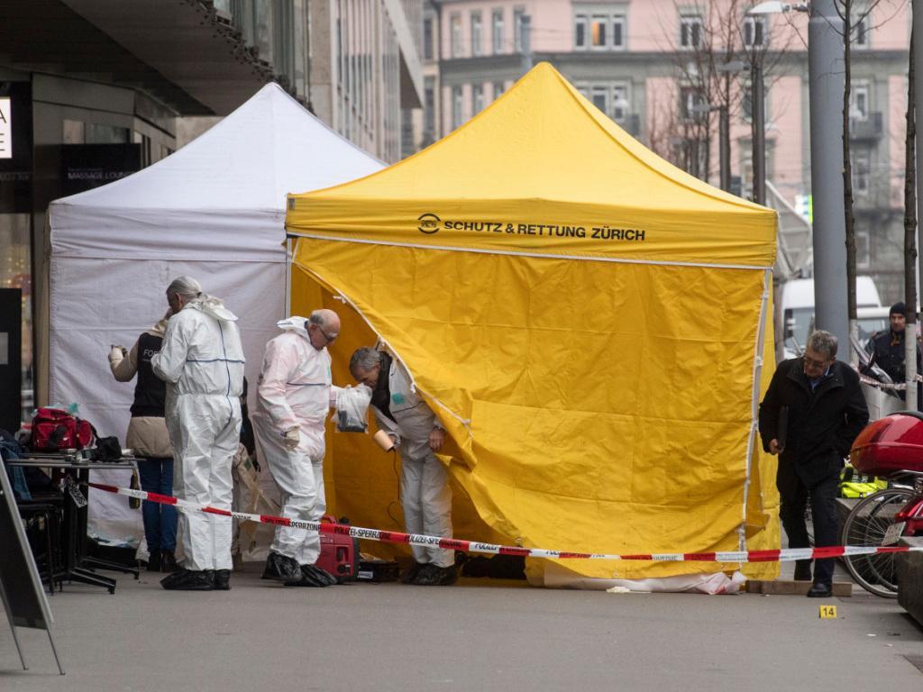 Coups de feu en plein centre de Zurich: deux morts