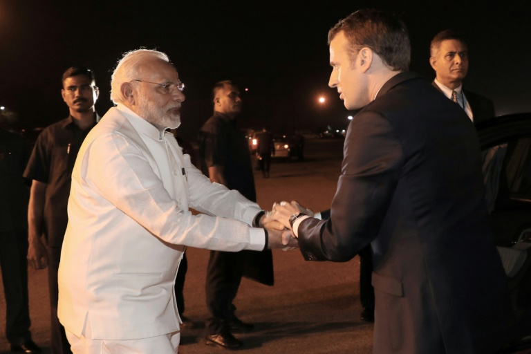 Macron veut inciter Bollywood à tourner en France