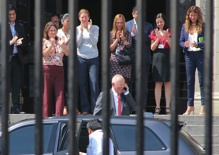 Le président Pedro Pablo Kuczynski démissionne — Pérou