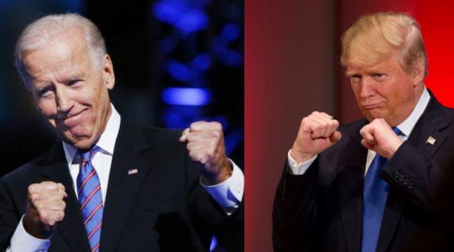Joe Biden et Donald Trump échangent des insultes
