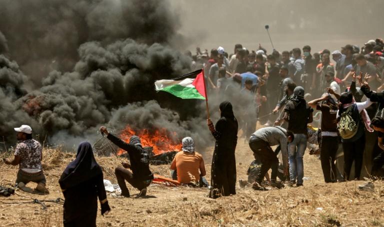 Violences à Gaza - L'ambassade américaine est un