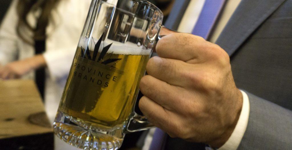 Une bière au cannabis mise au point au Canada
