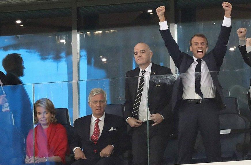Emmanuel Macron assistera à la finale à Moscou — Coupe du Monde